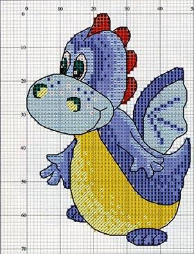 Схема вышивки год дракона фото 165