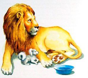 Толстой «Лев и собачка» читать онлайн бесплатно