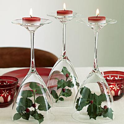 Как красиво расставить свечи на столе