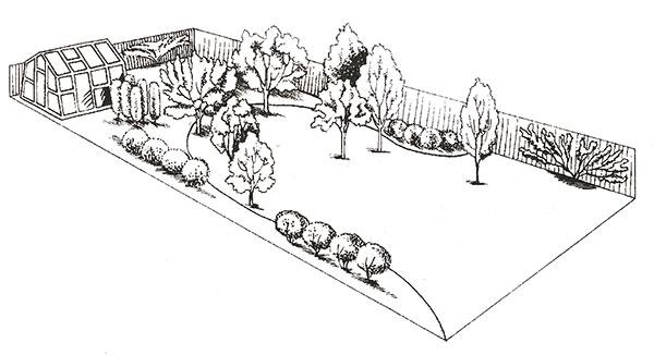 Чтобы сад был красивым и