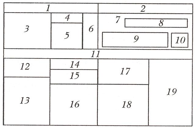 6) тыква, арбуз, дыня;