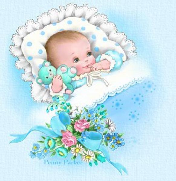 открытка маме с рождением сына: