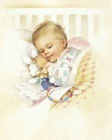 Народные средства для сна ребёнка