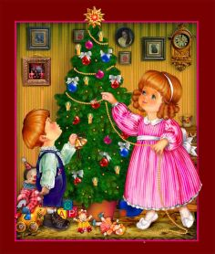 Новогодние стихи для детей 5, 6 лет