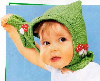 вязания шапочек для малышей | ВЯЗАНИЕ