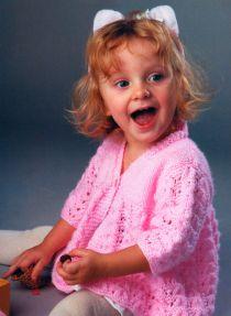 Вязание на спицах для ребёнка 1 год