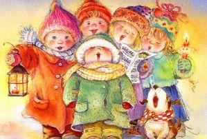 колядки на рождество сценарий для детей