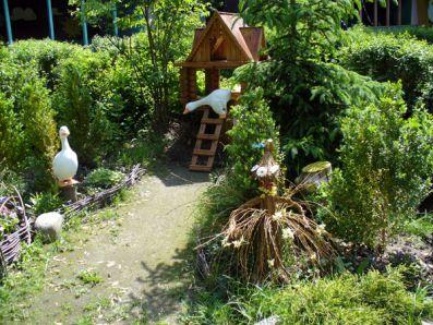 Оформление садового участка