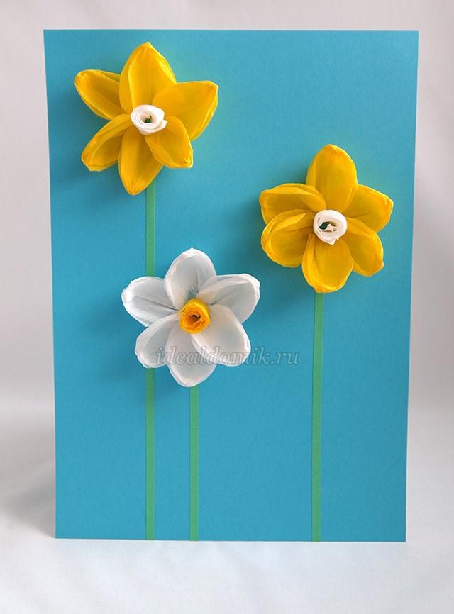 Делаем цветы бумаги